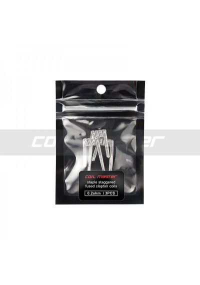 Coil Master Staple Staggered Coils - 3pack