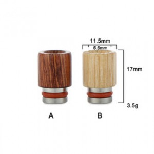 Driptips Crafted from raw treated Rosewood (510)