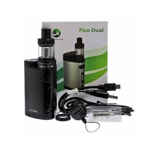 Eleaf iStick Pico Dual TC 200W kit with Melo III Mini tank