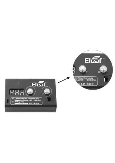 Eleaf Digtal Ohms and Volt meter