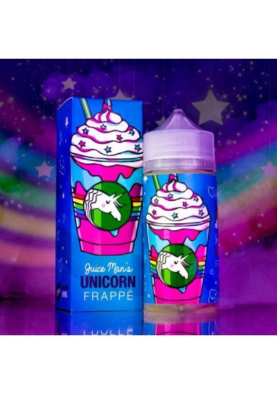 Juice Man E Liquid Unicorn Frappe 100ml