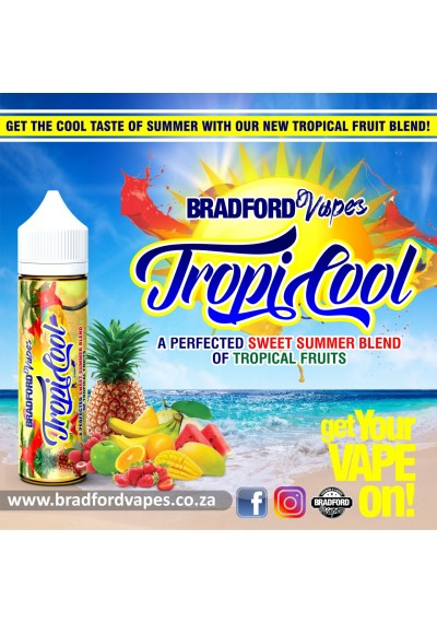 Bradford Vapes Tropicool 60ml