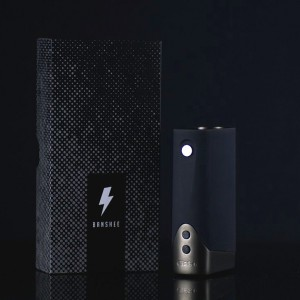 Praxis Vapor Banshee TC Box Mod 150 w by CigGO with Full Length LED Display(Latest Version)