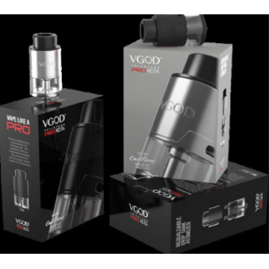 VGOD TrickTank Pro RDTA with Coil Feenz Build Kit Included