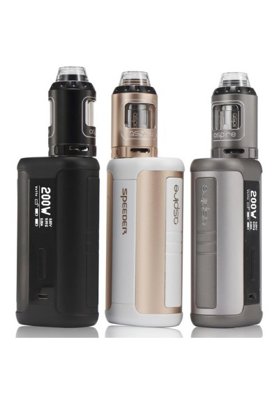 Aspire Speeder 200W Mod and Athos Sub-Ohm Tank Starter Kit