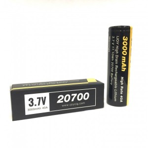 iJOY 20700 3000mAh BATTERY HIGH DRAIN RECHARGEABLE BATTERY - 40A