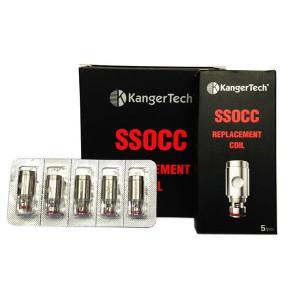 Kangertech SSOCC coils (Stainless Steel Organic Cotton Coil)