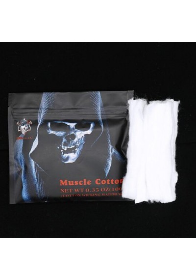 Demon Killer Authentic Muscle Cotton -Organic Cotton Fibre - 10 g (0.35oz)
