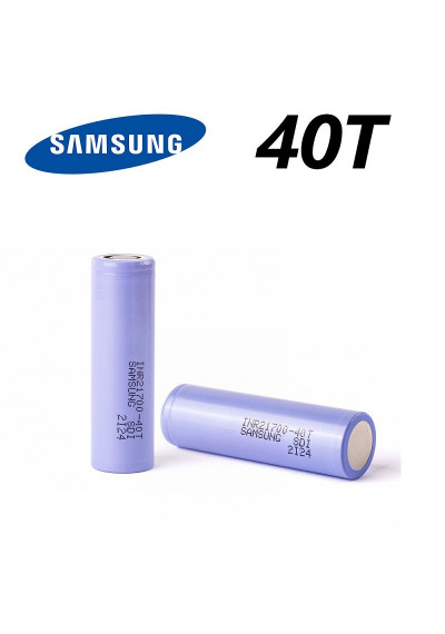 Samsung 40T 21700 4000mAh 30A Battery