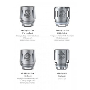 SMOK TFV8 Baby /Big Baby Beast Turbo Engine Replacement Coils