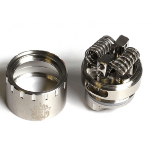 SMOK TFV8 RBA Head (Rebuildable Atomizer Head)-2 wrapped coils included