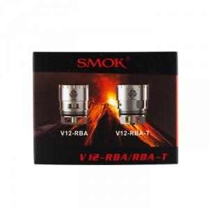 Smok tfV12-RBA for Single and Dual Coil Builds