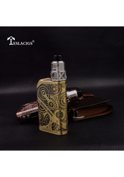 Tesla Nano 120W TC Mod With Arrow RDTA