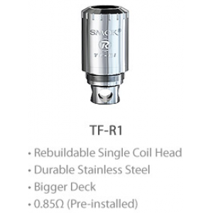 Smok Single coil RBA deck TF-R1