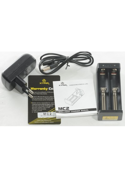 XTAR MC2 Intellicharger (Dual Port Battery Charger)